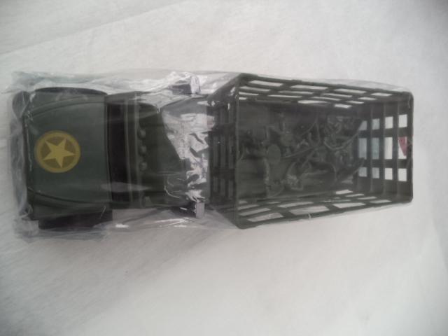 Carrito de carga verde